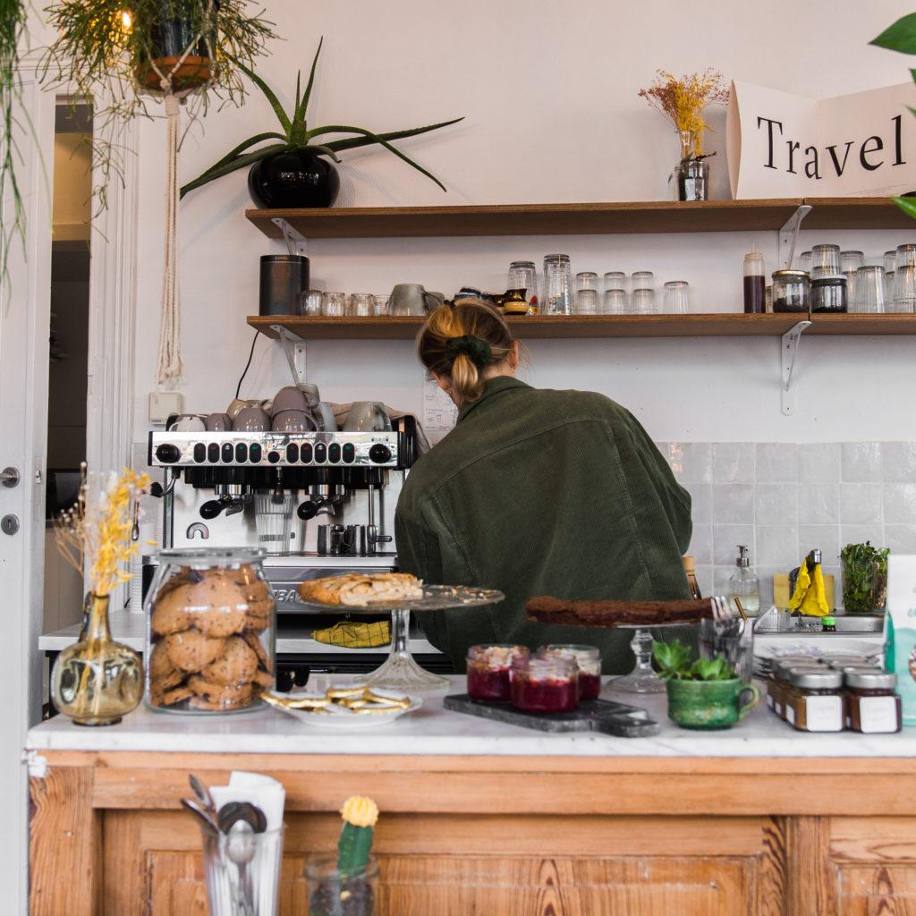 Koffietent fotograferen in België
